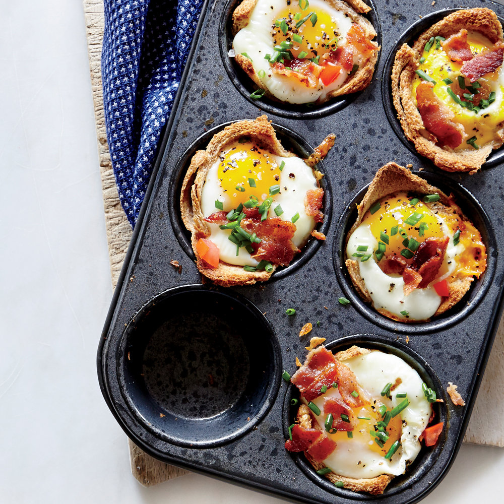 Egg And Toast Cups Recipe Myrecipes