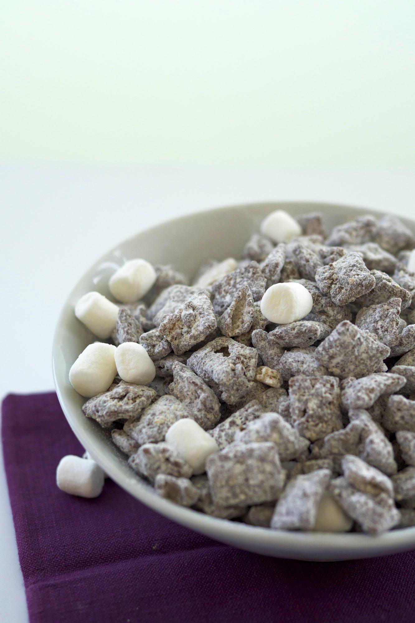 S Mores Puppy Chow Recipe Myrecipes
