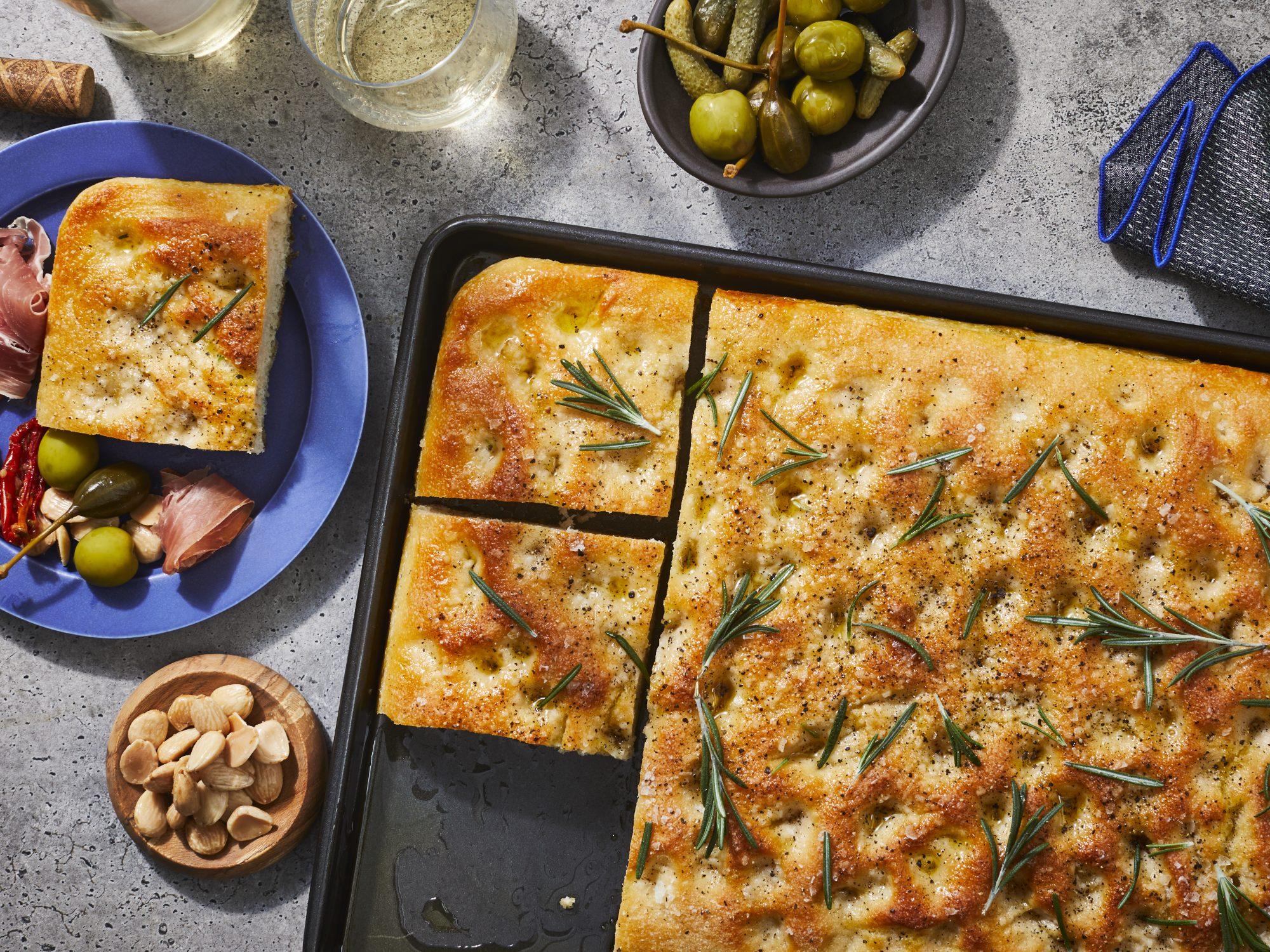 Classic Focaccia Bread Recipe Myrecipes