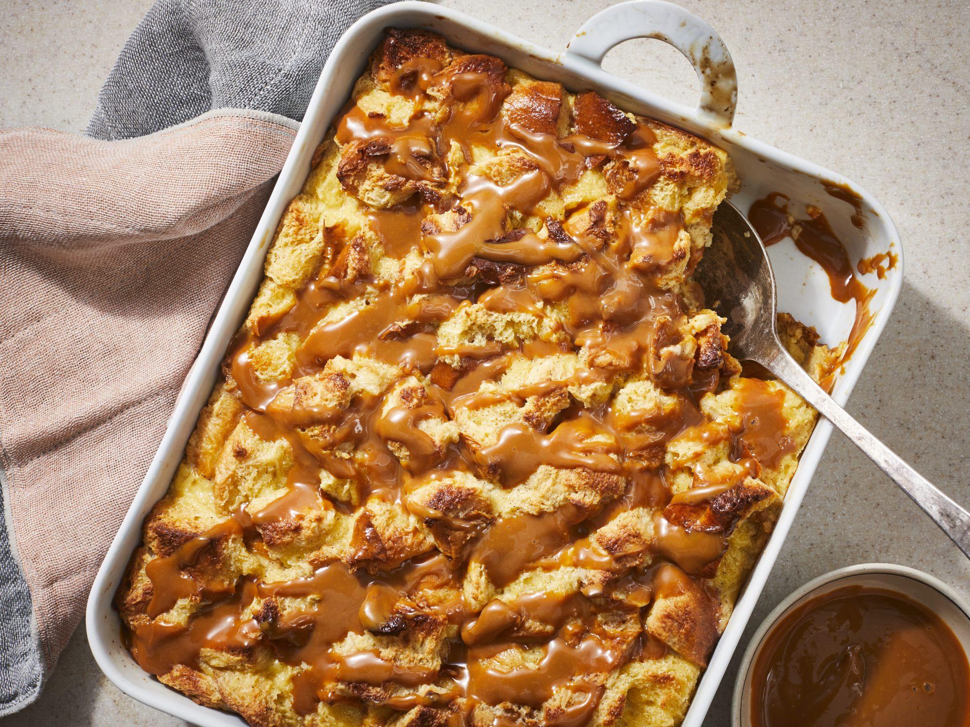 Tres Leches Bread Pudding Recipe Myrecipes