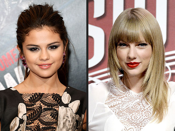 Selena Gomez There S A Big Difference Between Taylor Swift Me People Com