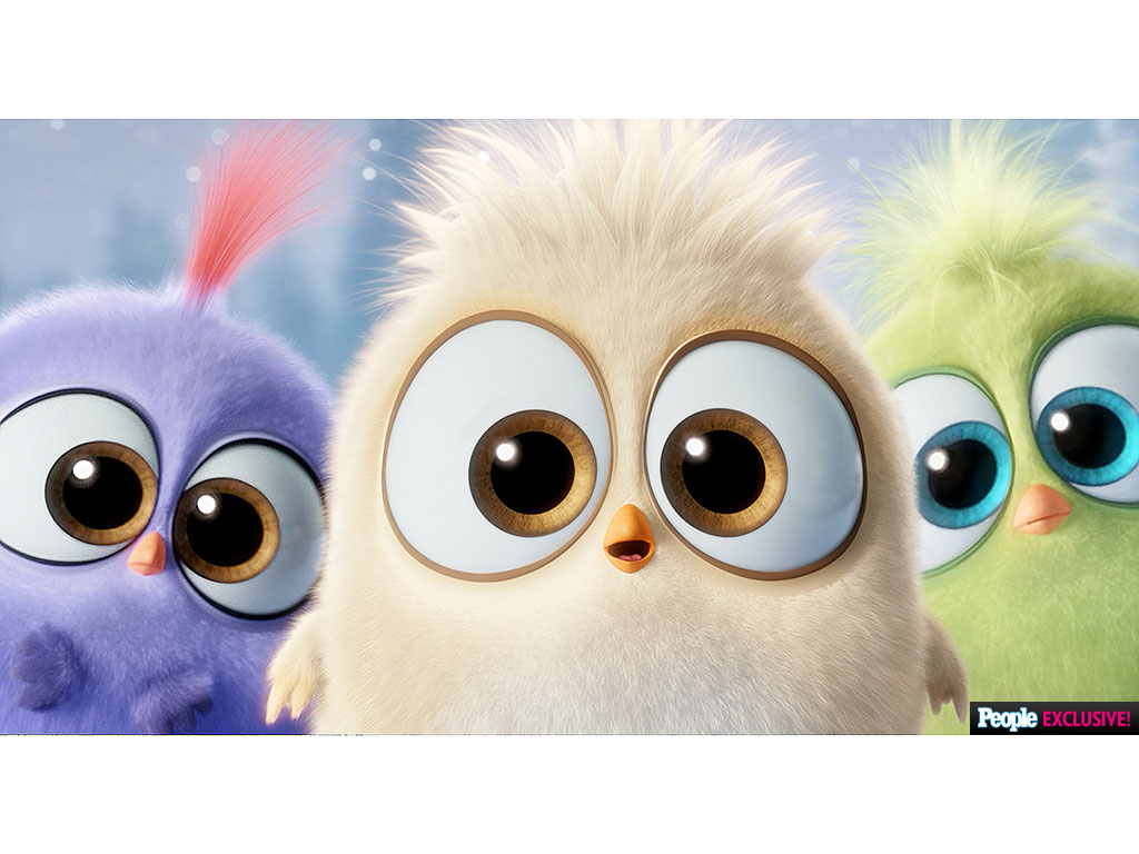 Angry Birds Movie The Hatchlings Sing Deck The Halls In Video People Com