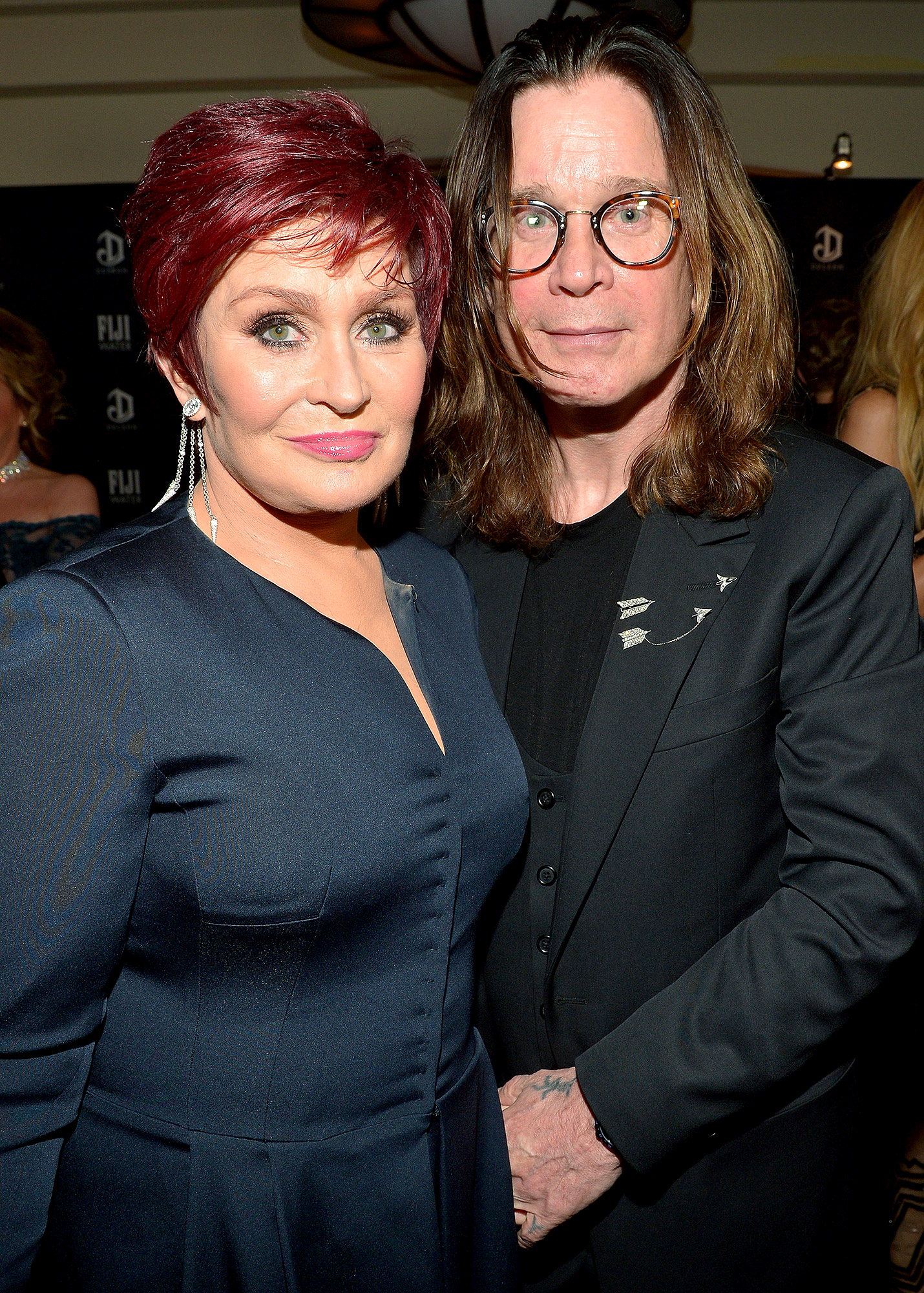Ozzy Osbourne with sexy, Wife Sharon Osbourne