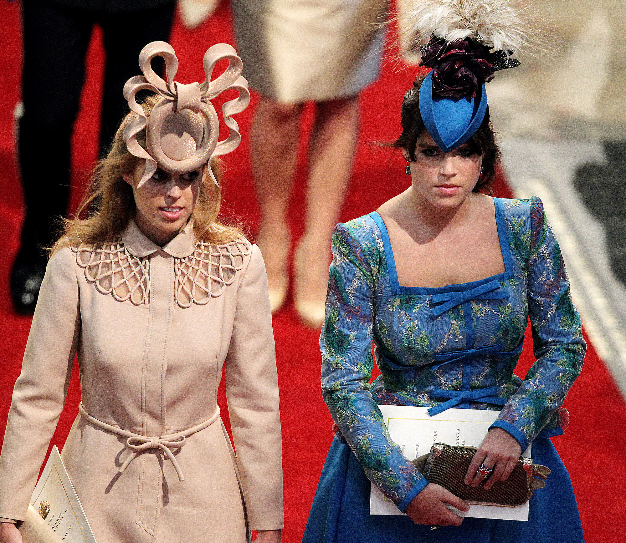 Remembering Princess Eugenie And Beatrice S Infamous Hats People Com