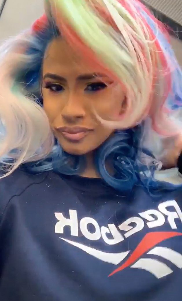 See Every One Of Cardi B S Colorful Hair Changes People Com