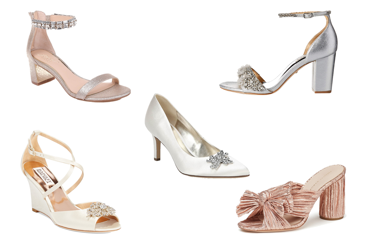 15 Comfortable Bridal Shoes and Heels