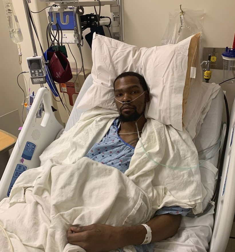 Kevin Durant Has Successful Surgery for Ruptured Achilles | PEOPLE.com