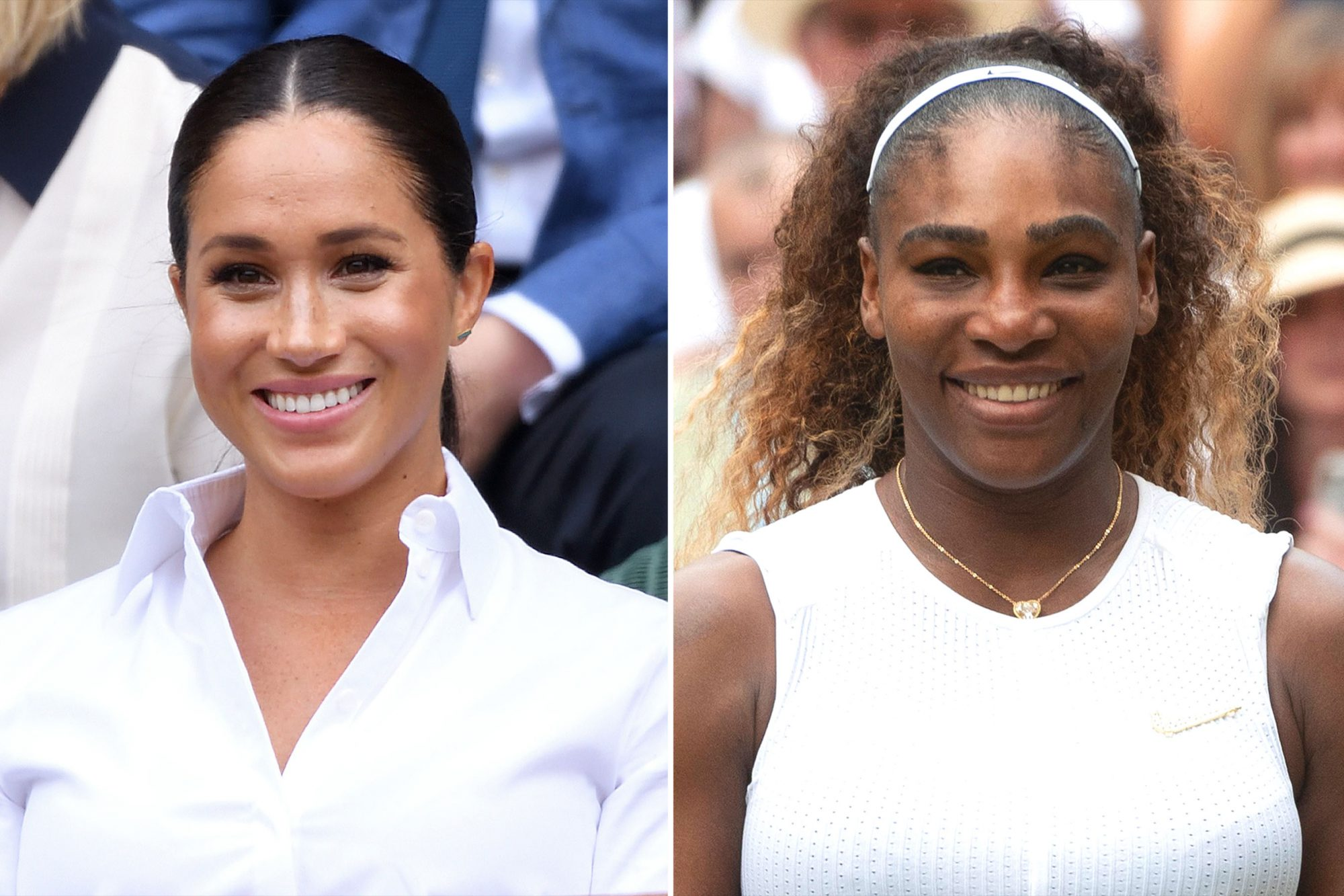 serena williams shuts down question about meghan markle people com serena williams shuts down question
