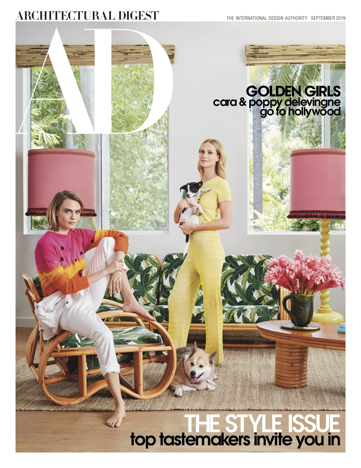 """Inside Cara and Poppy Delevingne 's Los Angeles """"Dream Sister House"""""""