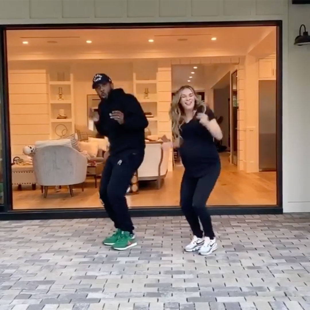 Allison Holker 'Gettin'Jiggy wit It 'at 39 Weeks 임신 :'Still Over Here Dancing Away '
