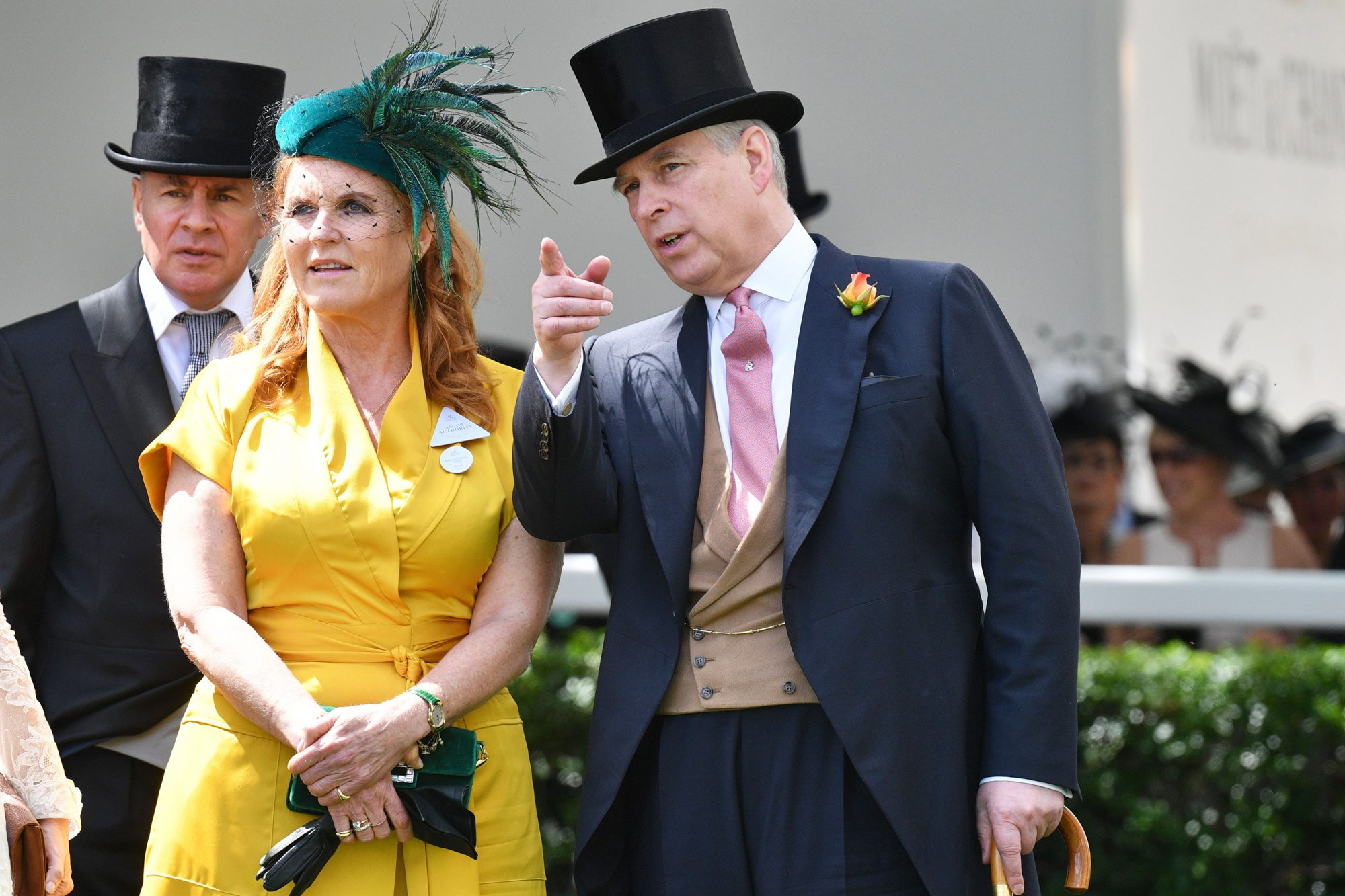 Royal Family and Fergie Wish Prince Andrew Birthday Amid Scandal ...