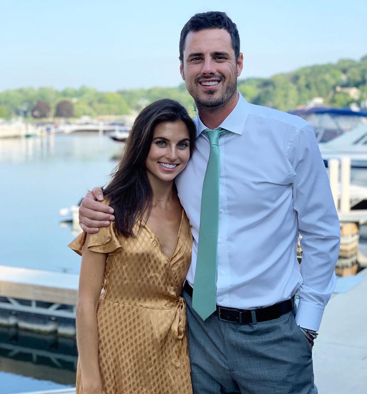 Ben Higgins on the Moment He Got Down on One Knee & 'Shocked'Girlfriend Jessica Clark with Proposal