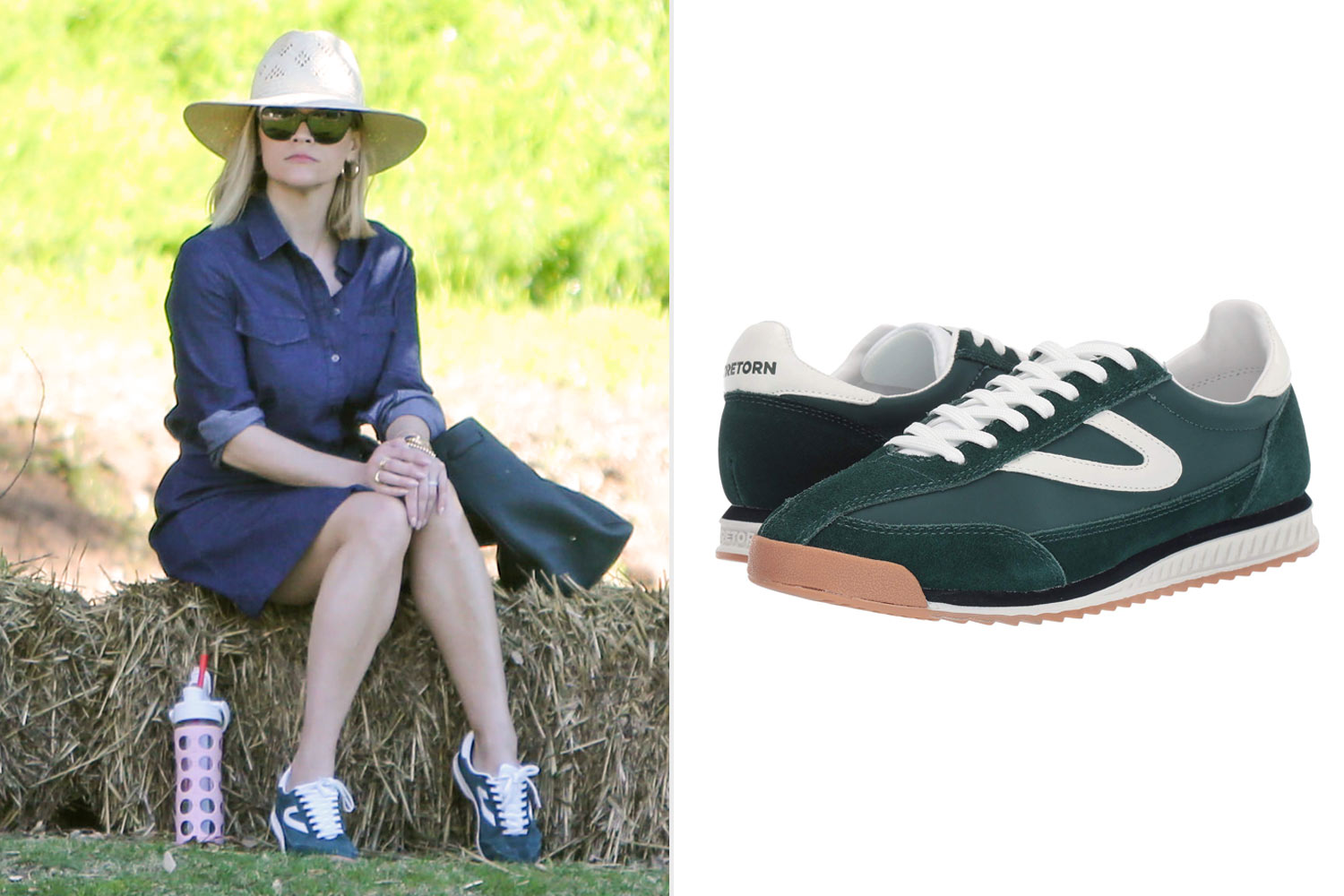Reese Witherspoon Wears Tretorn