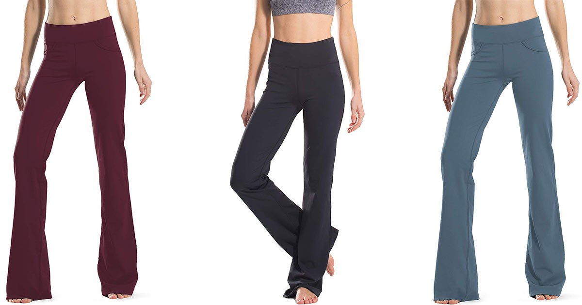 Safort S 30 Flare Yoga Pants Fit Women Of All Heights People Com