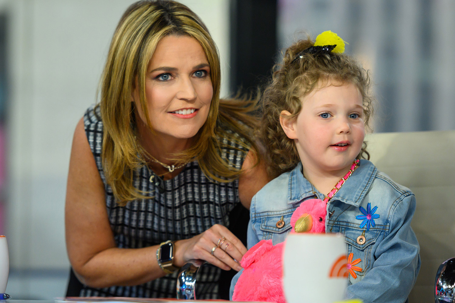 Savannah Guthrie S Daughter Vale Texts Her I Miss You People Com