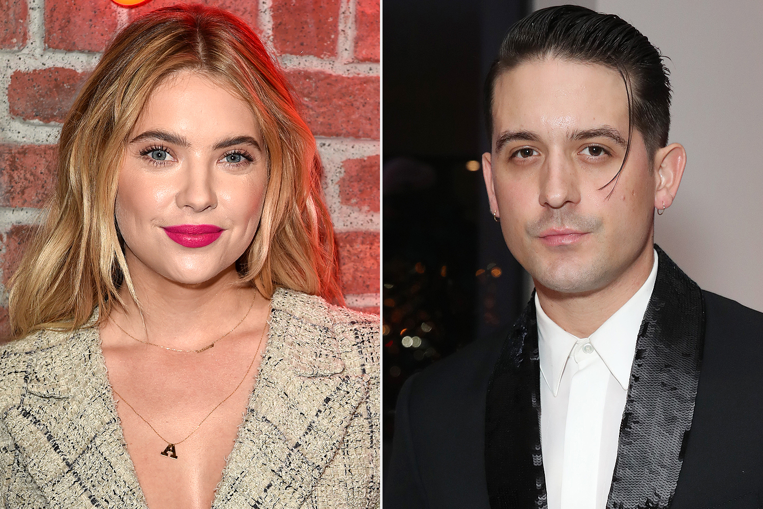 Ashley Benson Takes G Eazy As Her Date To Sister S Wedding
