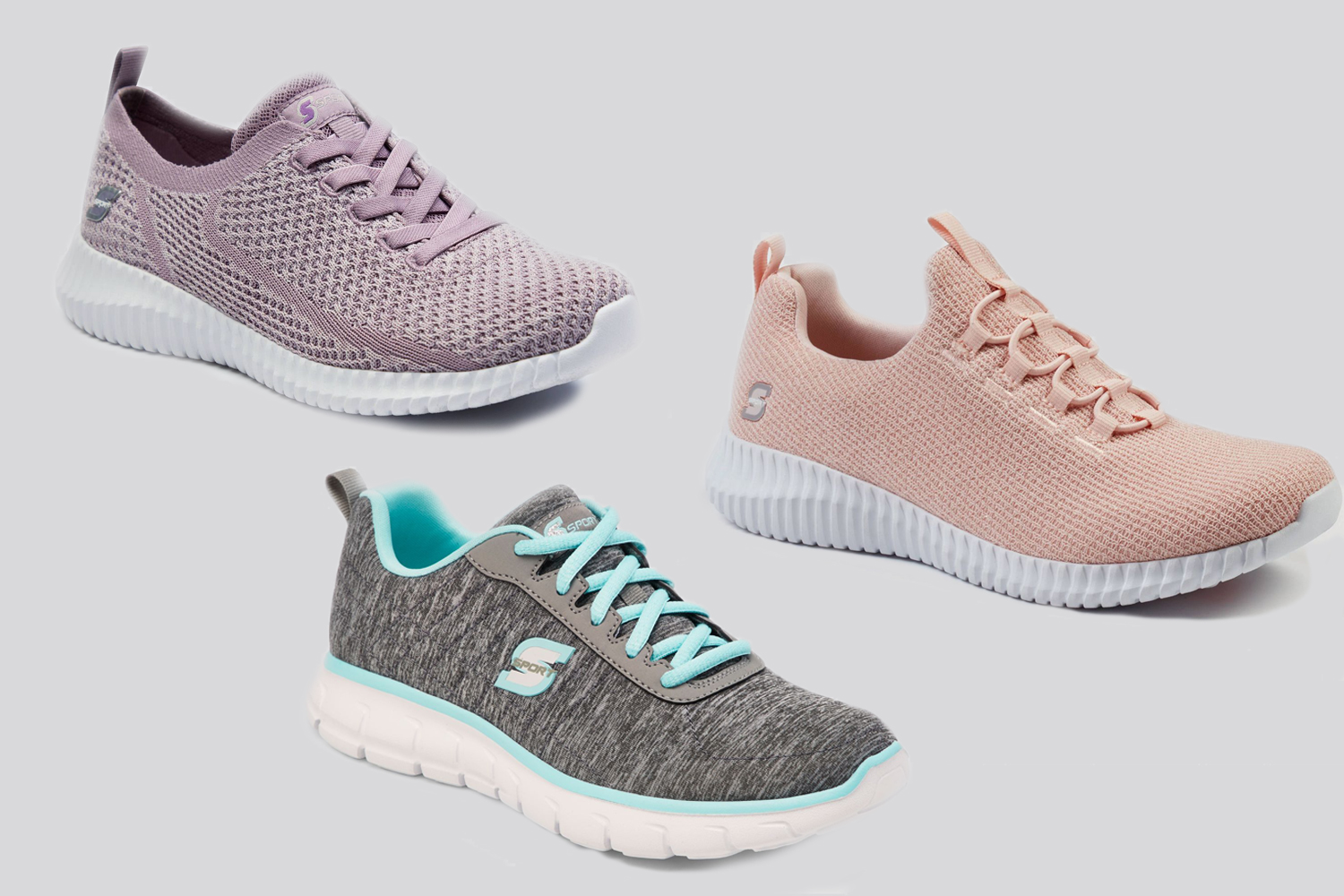 sketchers white womens sneakers