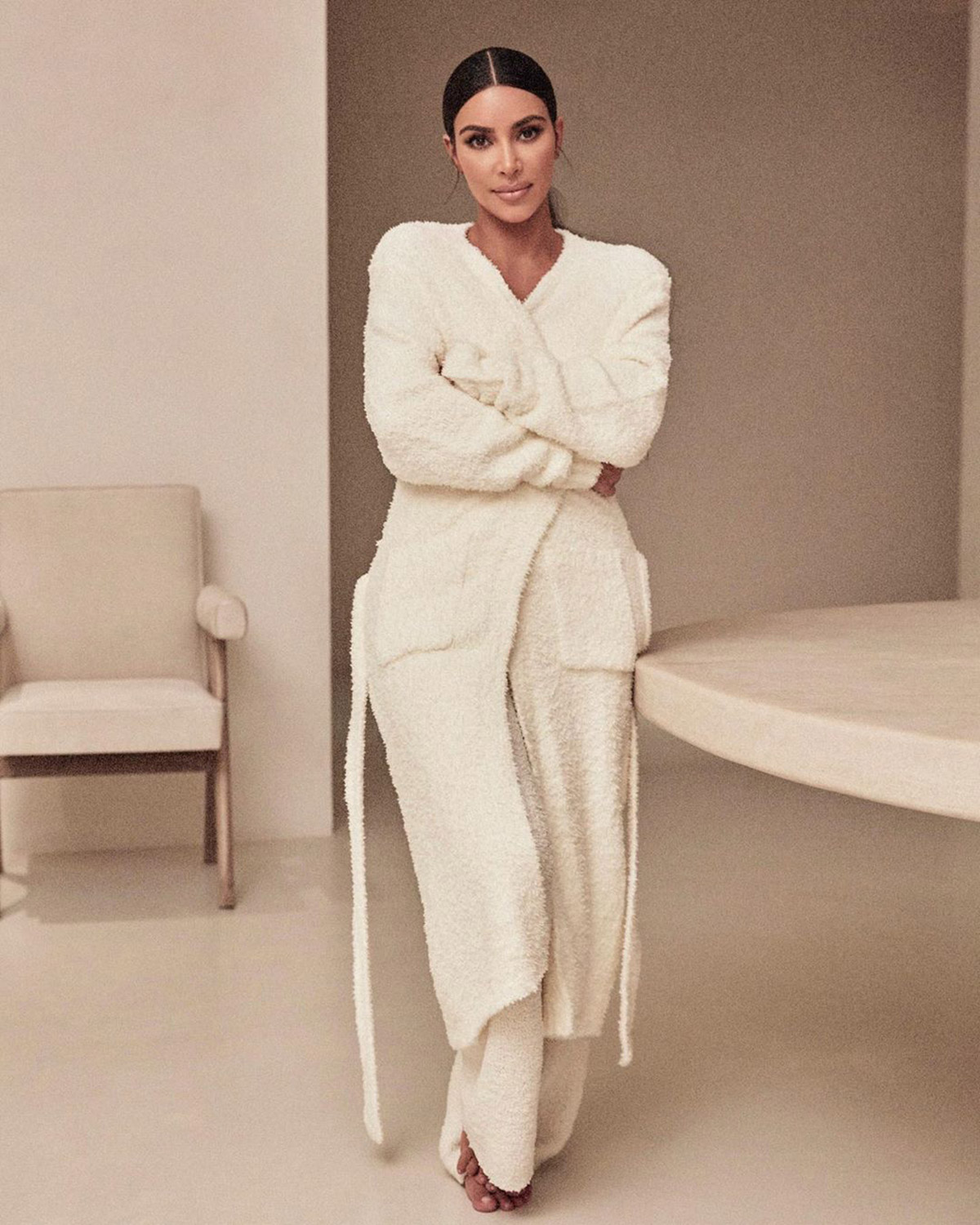 Kim Kardashian S Skims Cozy Collection Is Back In Stock People Com