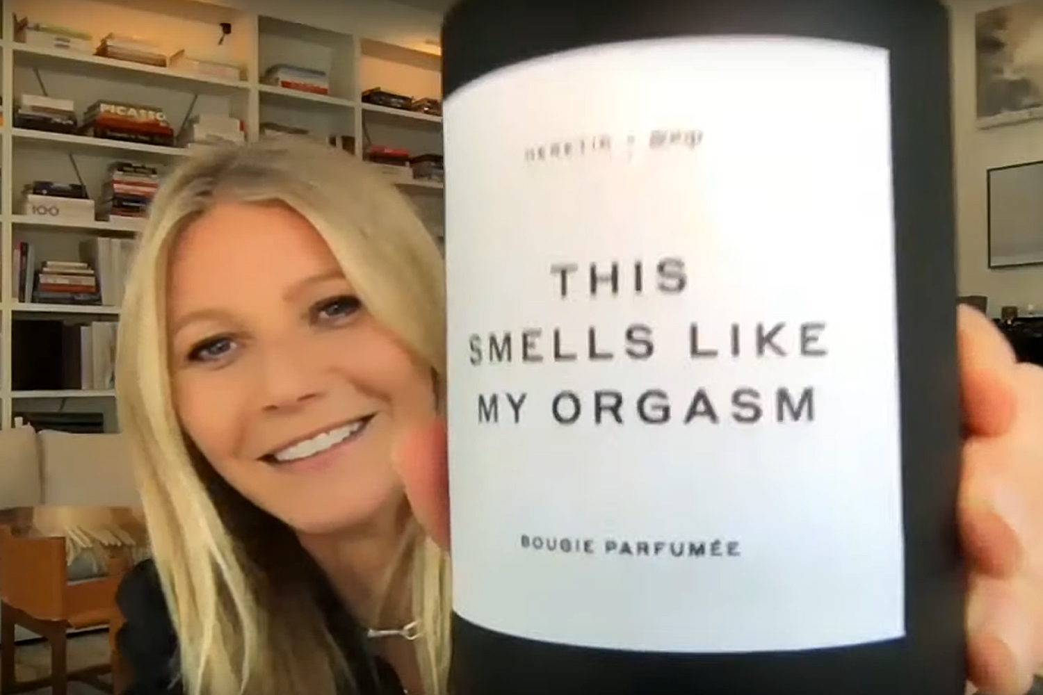 "Gwyneth Paltrow ujawnia nową świeczkę Goopa ""This Smells Like My Orgasm"": ""The Box Has Fireworks"""
