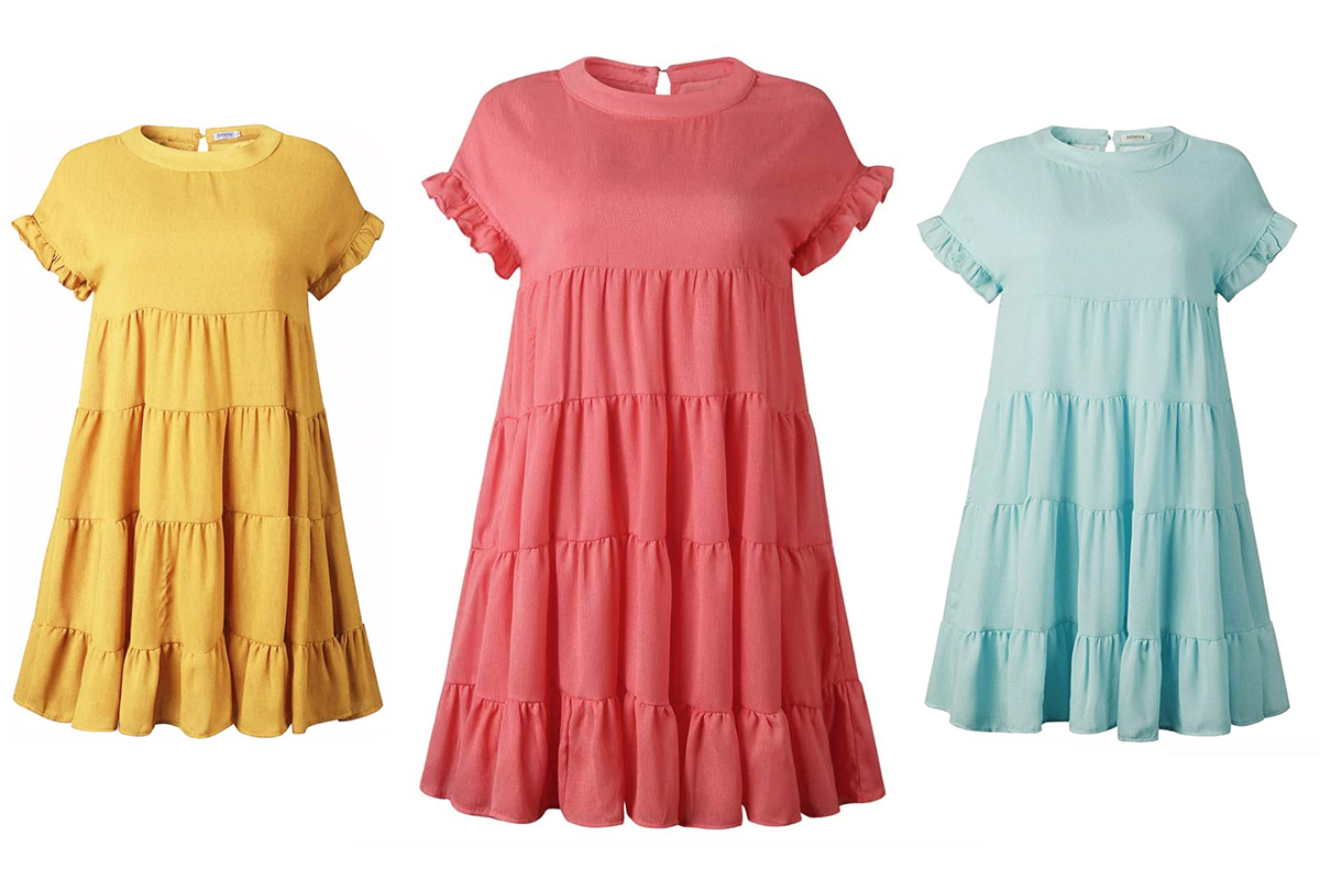 This Ruffle T Shirt Dress Jumped 1 500 In Sales In 1 Day People Com