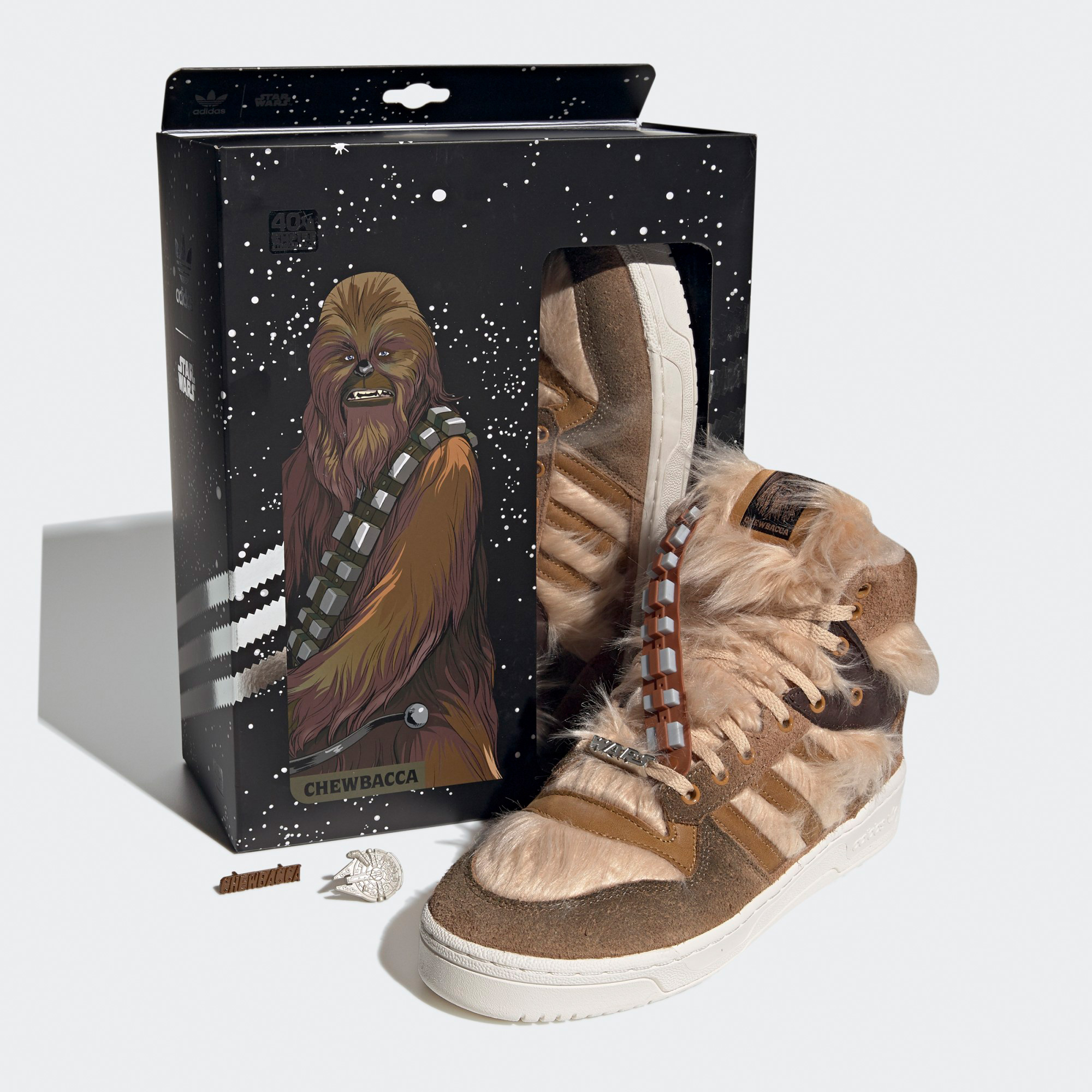 Adidas and Star Wars Launch Fur-Covered