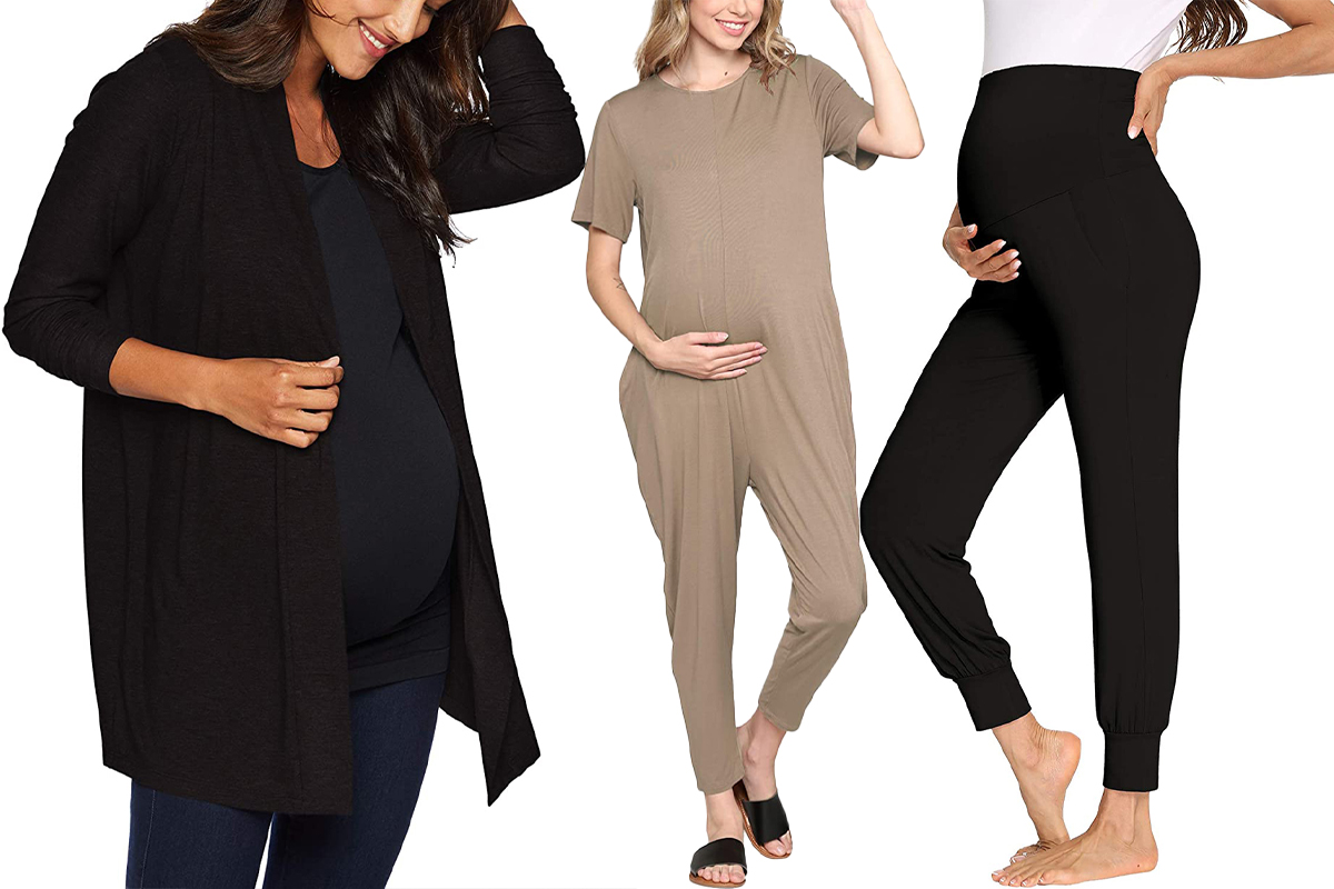 The Best Cozy Maternity Clothes To Shop On Amazon Right Now People Com
