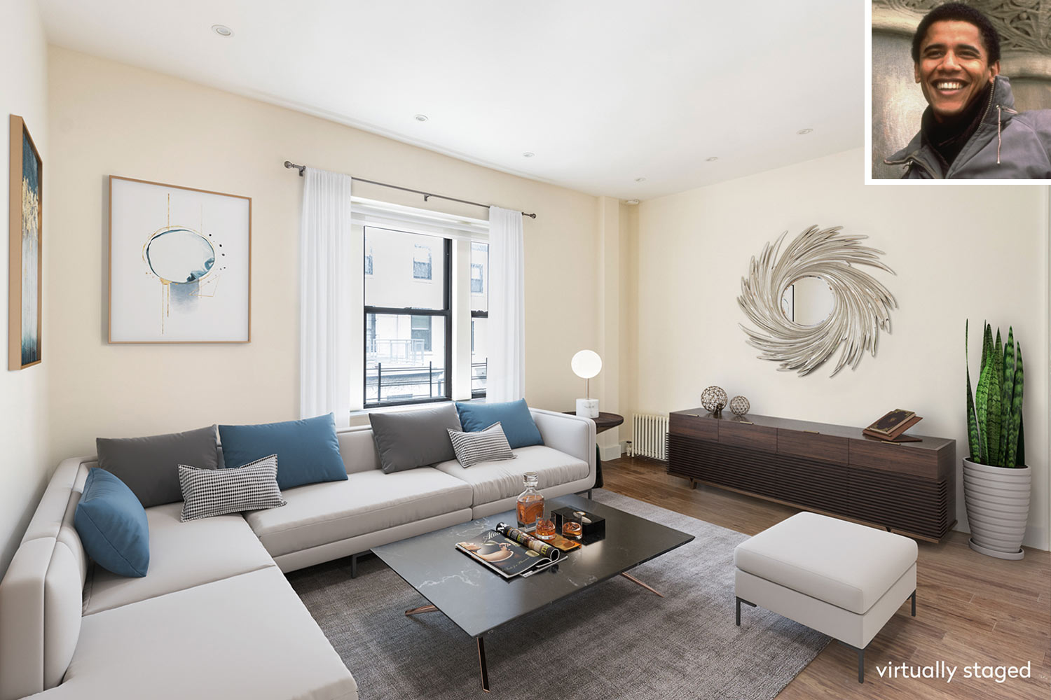 Barack Obama S Former College Apartment In Nyc Is For Sale For 1 5m See Inside People Com