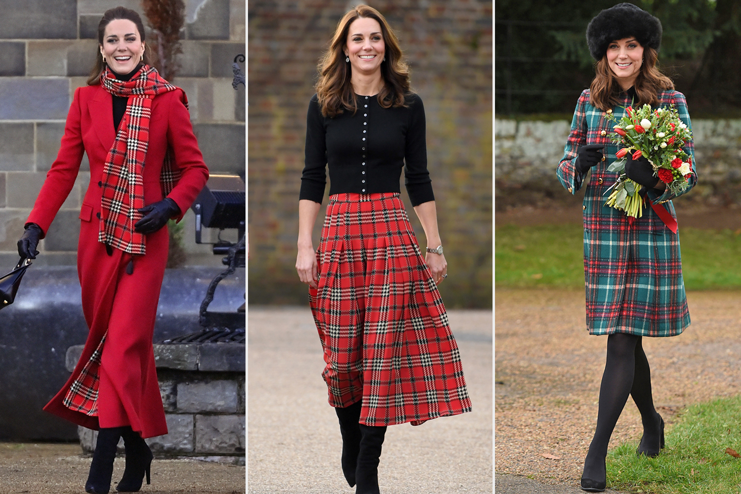 Kate Middleton: Best Tartan Outfits | PEOPLE.com