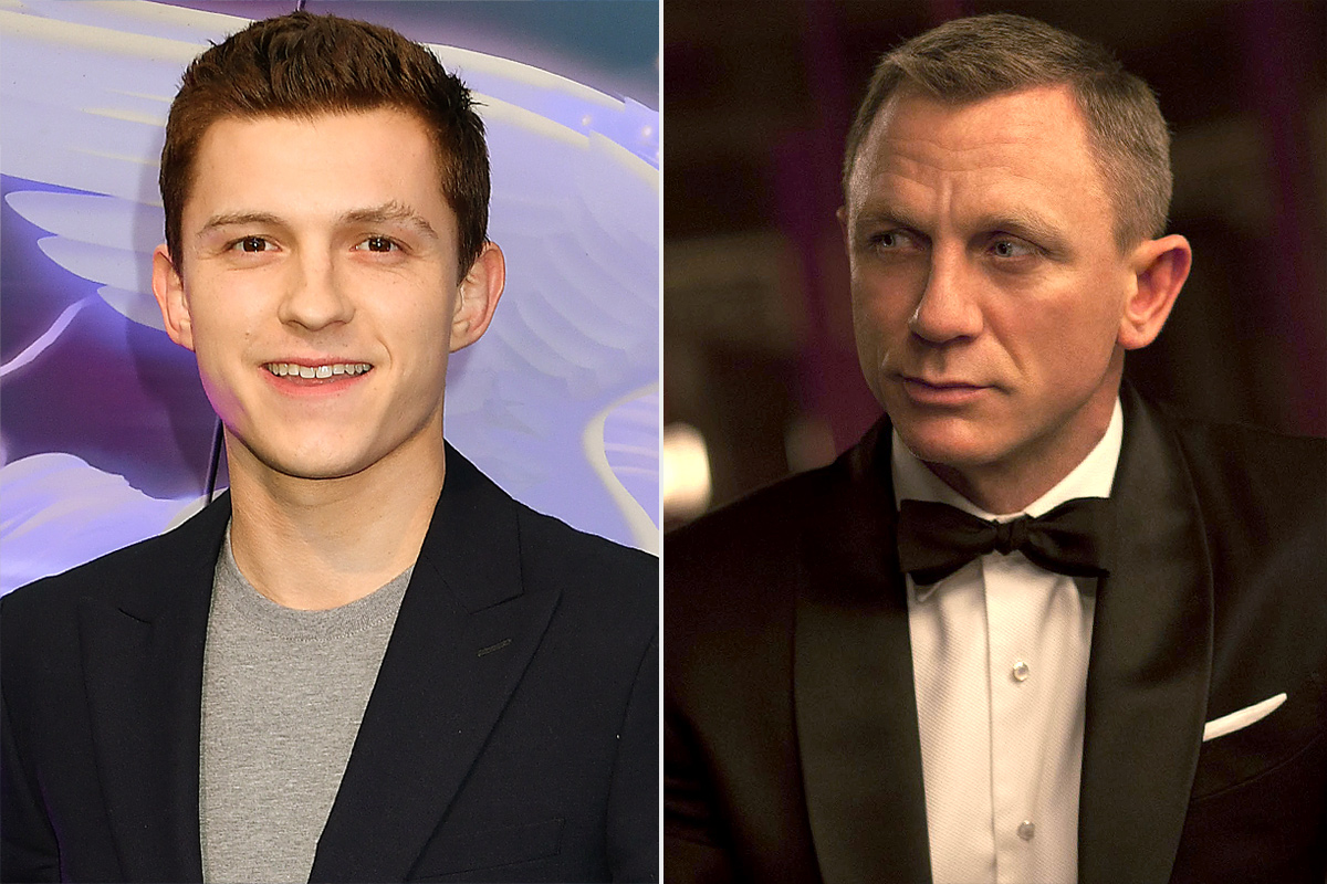 Actor Tom Holland dream role is to be James Bond.