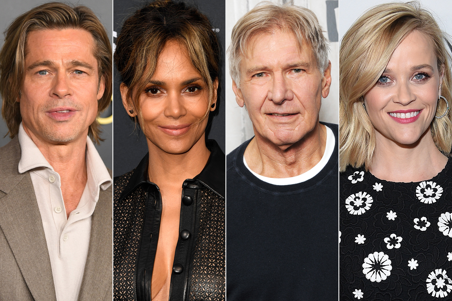 Brad Pitt, Halle Berry, Harrison Ford 및 Reese Witherspoon, 2021 년 오스카상 발표