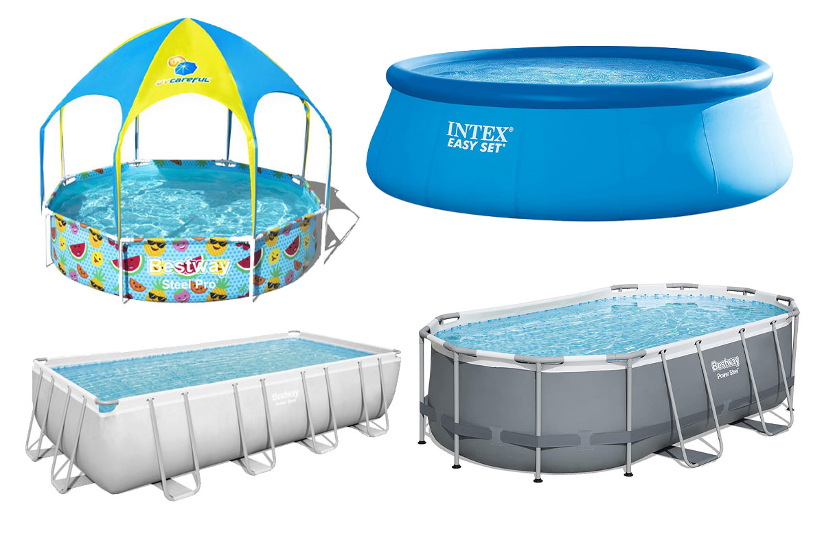 6 Best Above Ground Pools For Backyard Swimming People Com