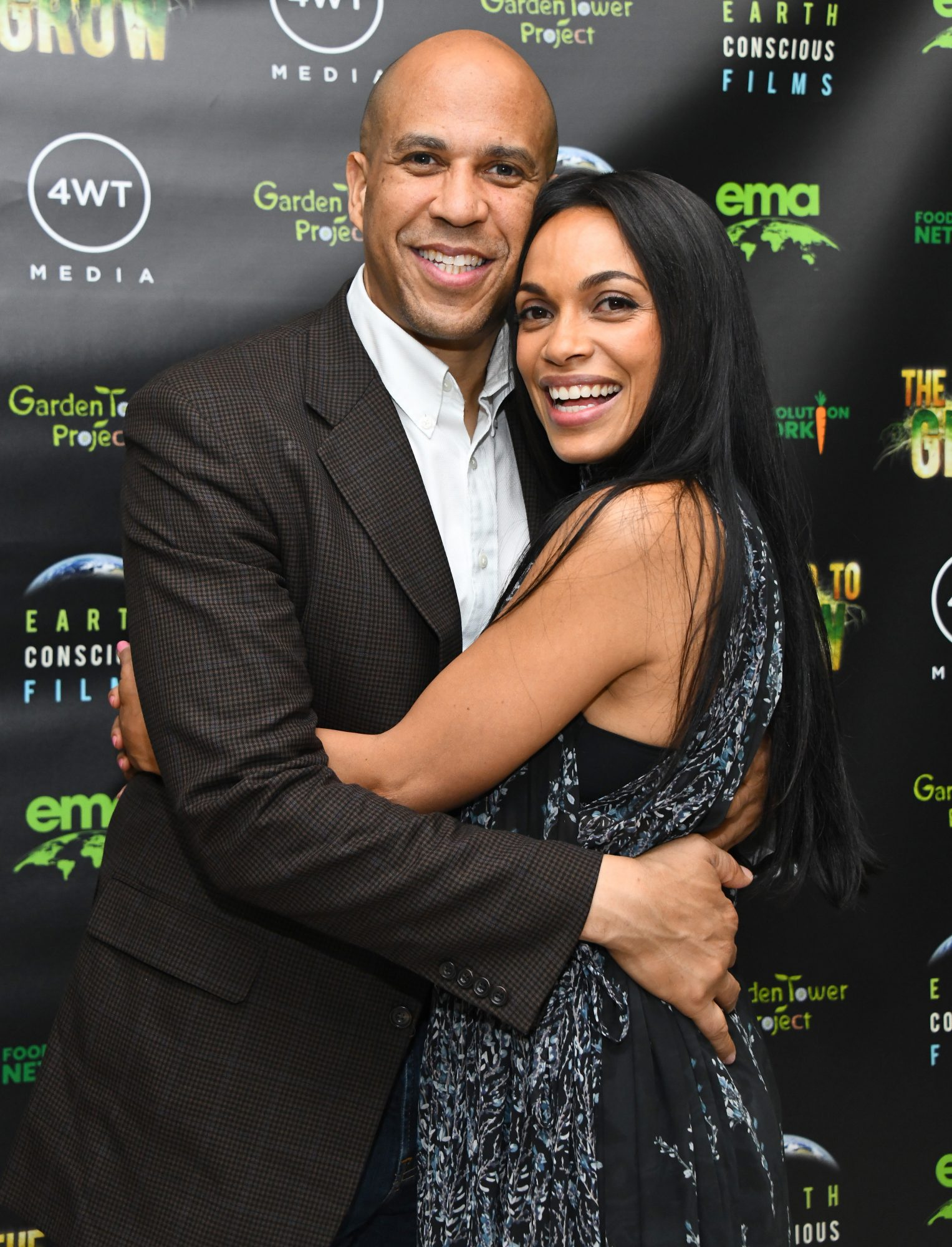 Rosario Dawson on Moving In with Cory Booker It's a 'New Chapter ...