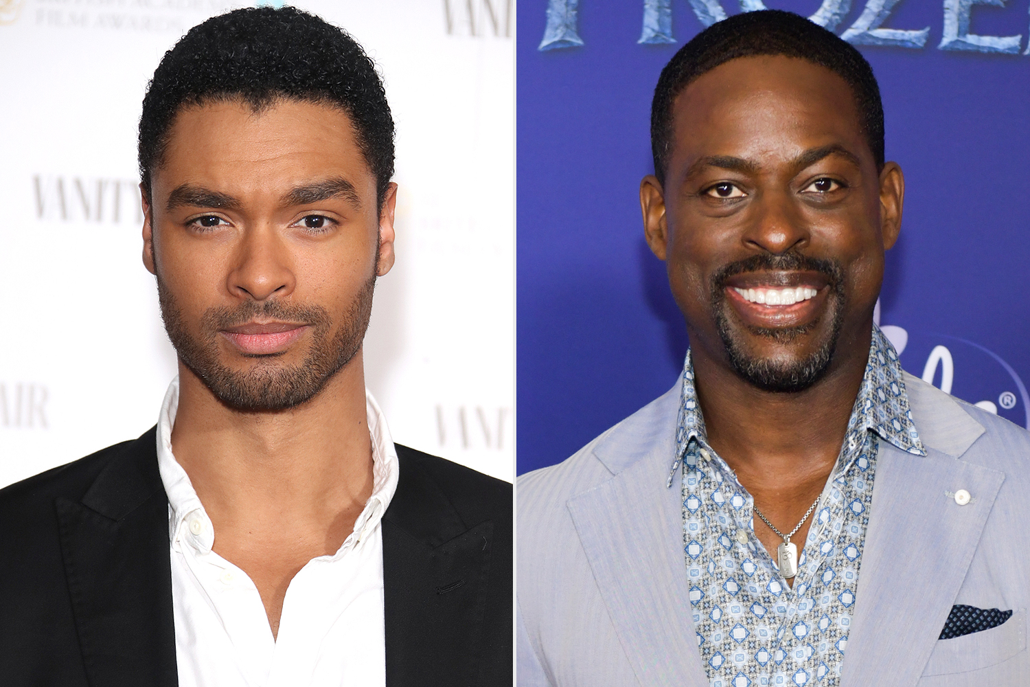 Regé-Jean Page on Friendship with Sterling K. Brown : 'He 's Talked Me through a Two Things'