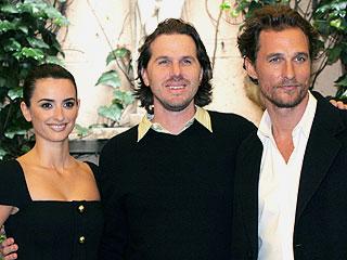 Penélope Cruz, el director Breck Eisner y Matthew McConaughey