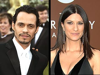 Marc Anthony y Laura Pausini