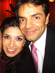 Dalilah Polanco y Eugenio Derbez