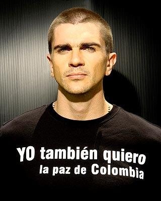 Foto oficial de la nueva campaña de la fundación de Juanes.