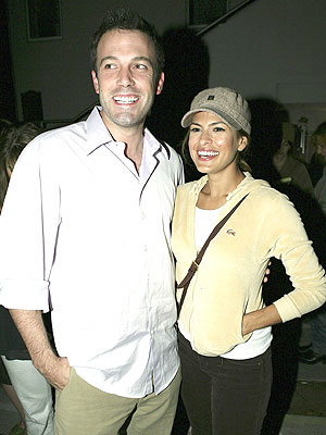 Ben Affleck y Eva Mendes