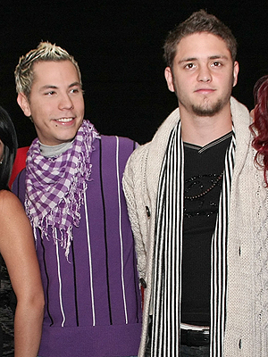 Christian Chavez y Christopher Uckermann
