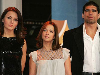 Angelique Boyer, Adamari López & Alberto Estrella