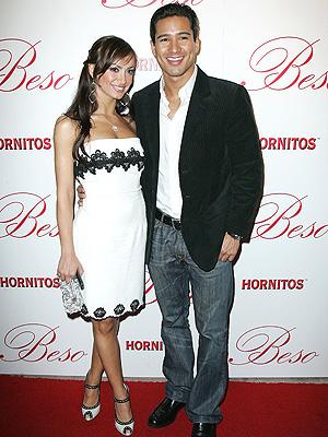 Mario Lopez y Karina Smirnoff