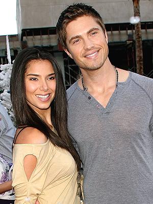 Roselyn Sanchez y Eric Winter