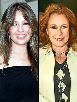 Thalia y Laura Zapata