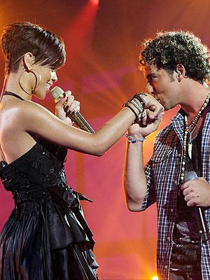 Rihanna, David Bisbal