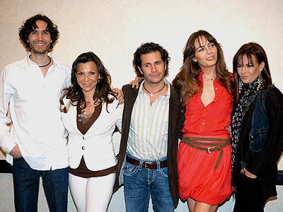 Timbiriche, Benny Ibarra, Mariana Garza, Sasha Sokol