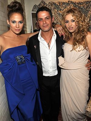 Jennifer López, Alejandro Sanz, Paulina Rubio, Gala Inaugural Latina