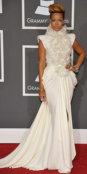 Rihanna, plumas