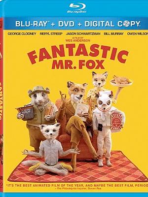 Fantastic Mr. Fox en Blu-Ray/DVD combo