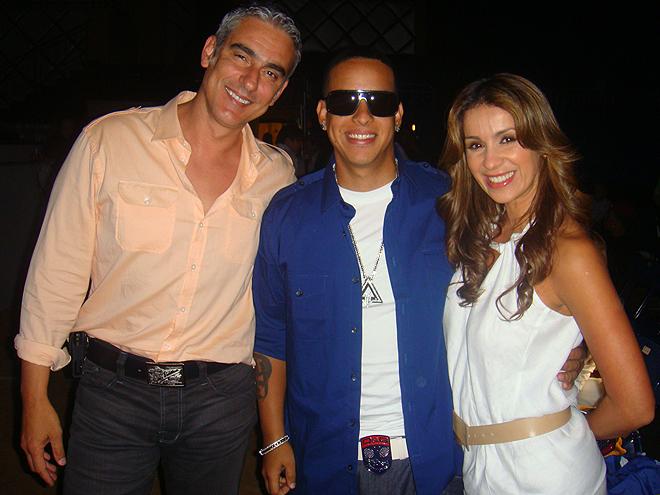 Miguel Varoni, Daddy Yankee, Catherine Siachoque
