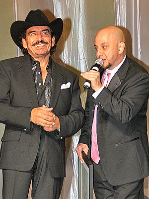 Joan Sebastian y Pepe Garza